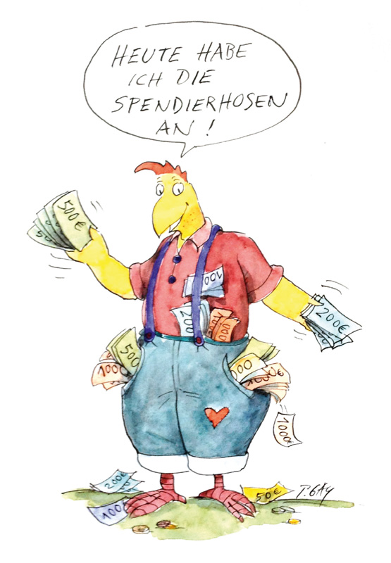 Spendierhosen